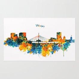 Winnipeg Skyline Rug