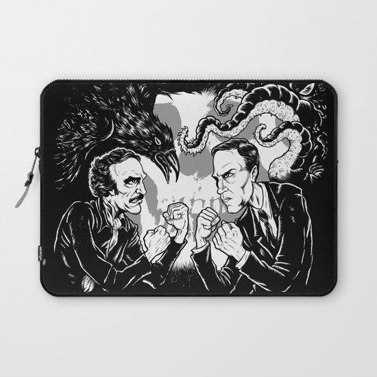 Poe vs. Lovecraft Laptop Sleeve