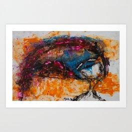 Expresión 09 Art Print
