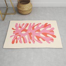 Sea Leaf: Matisse Collage Peach Edition Rug