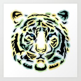 Tribal Tiger Art Print
