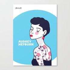 Audrey Hepburn II Canvas Print