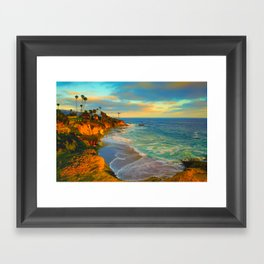 Laguna Beach California Framed Art Print