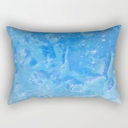 blue lagoon cocktail Rectangular Pillow