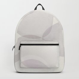"""Soft abstract shapes, """"Valeria"""" Backpack"""