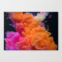 Smoke Twist Canvas Print