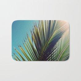 Sunny Palm Tree Bath Mat