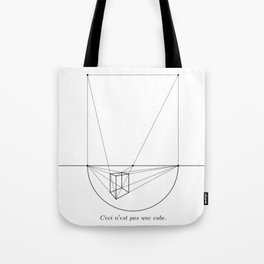 the treachery of images Tote Bag