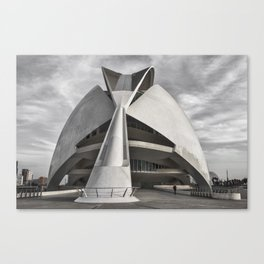 City of Arts and Sciences I | C A L A T R A V A | architect | Canvas Print