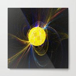 Sunflares   (A7 B0067) Metal Print