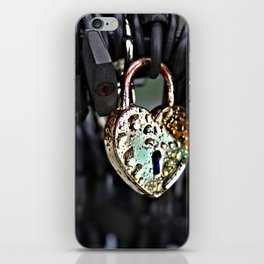 Where's the Key to Love? iPhone Skin