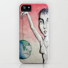 Slipping Away iPhone Case