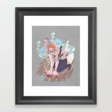 here comes the beast Framed Art Print