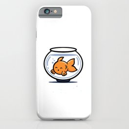 Fish Ate My Homework iPhone Case