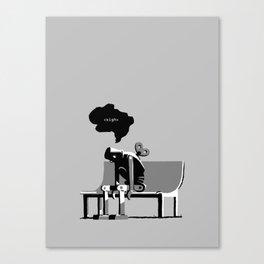Robot Blues Canvas Print