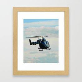 Heli rescue Framed Art Print