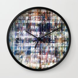Contrasted, sorted; contorted source. Wall Clock