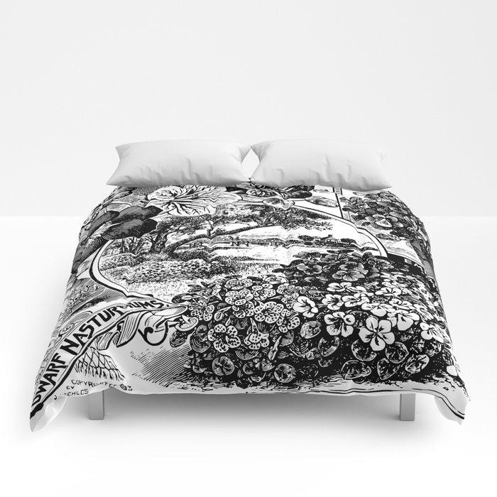 Childs' Dwarf Nasturtiums 1895 Comforters