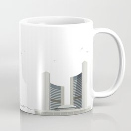 Toronto City Hall | Icon-O-Tecture Coffee Mug