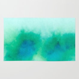 Green Blue Haze Rug