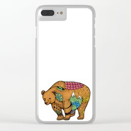 Simply Unbearable Clear iPhone Case