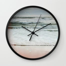 Beach Bubbles Wall Clock