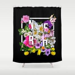 Nerd Flowers Shower Curtain