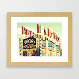 Popcorn Candytime Framed Art Print