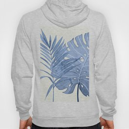 Blue Leaves I Hoody