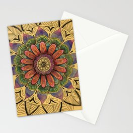 Petals and Leaves Stationery Cards