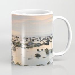 Orange sunset at the rocks Coffee Mug