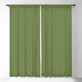 Remembrance ~ Garden Green Blackout Curtain