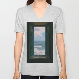 Atlantic Morning Unisex V-Neck