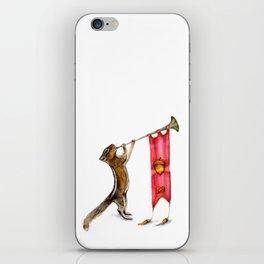 Herald Chipmunk iPhone Skin