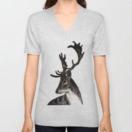 Deer Ink Unisex V-Neck