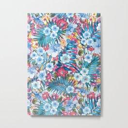Flower Happiness Metal Print