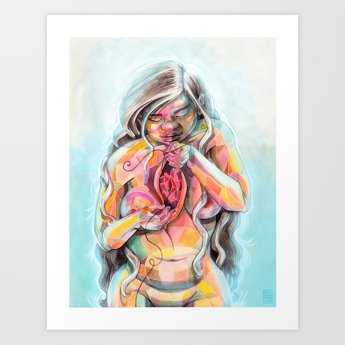 Healing Ourselves Art Print