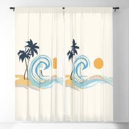 Minimalistic Summer II Blackout Curtain