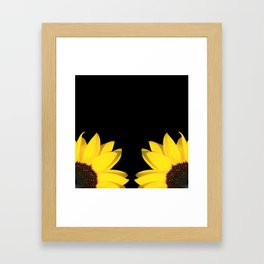 colored summer for two - o2 Framed Art Print