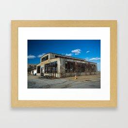 Abandoned Building Framed Art Print