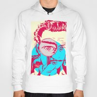 dali Hoodies featuring Dali   by Vee Ladwa