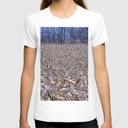 Cornfield in the fall T-shirt