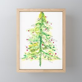 Fa La La La Tree Framed Mini Art Print