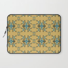 Shears in blue game Laptop Sleeve