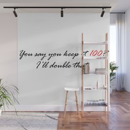 Keep it 200. Wall Mural