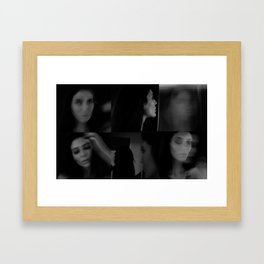 En Noir Framed Art Print