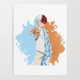 My Hero Academia Minimalist (Todoroki) Poster