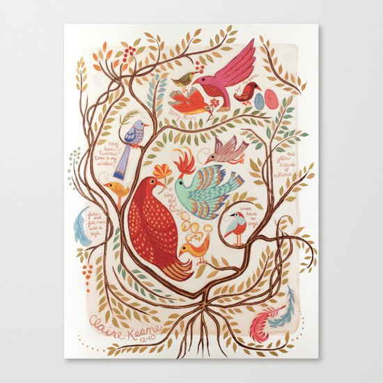 Stray Birds Canvas Print