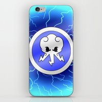 jay fleck iPhone & iPod Skins featuring Jay by webchow