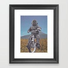Rascal Mountain God Framed Art Print